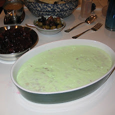 Green Jello Dessert