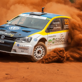 Rally 005 by Johan Niemand - Sports & Fitness Motorsports ( car, rally, racing, dust, dirt, stage )