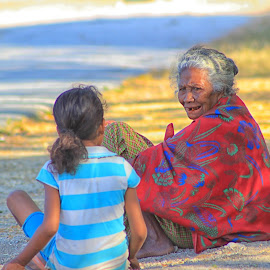 Grandmother by Eman Bria - People Family