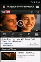 Screenshot of Classic love songs