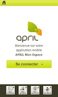 Screenshot of APRIL Mon Espace