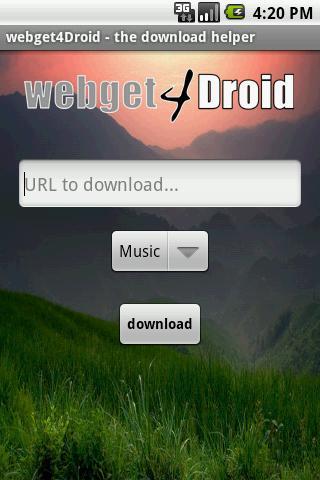webget4Droid