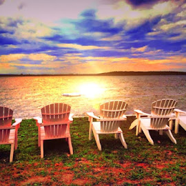The lake by Kara Shields - Landscapes Sunsets & Sunrises