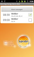 Screenshot of Supradyn Morning Energ Alarm C