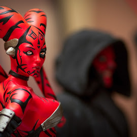 Star Wars by Reza Roedjito - Artistic Objects Toys ( jedi, action figure, toys, bokeh, starwars )