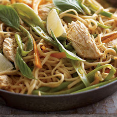 Thai Chicken Coconut Noodles