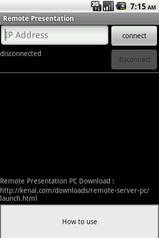 Remote Presentation Lite