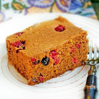 Gluten-Free Pumpkin Chai Bread with Cranberries