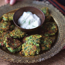 Zucchini Patties with Feta