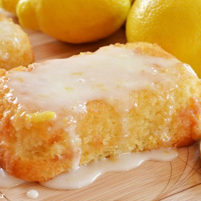 Gluten Free Glazed Lemonade Cake Recipe *Super Moist!