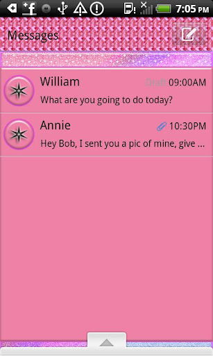 GO SMS THEME MysticCastle