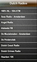 Screenshot of Dutch Radio Dutch Radios