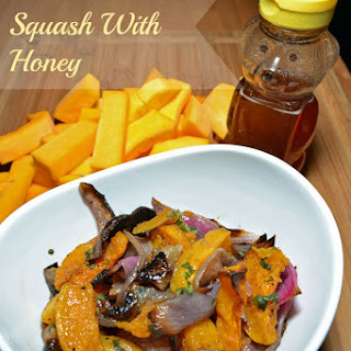 Roasted Butternut Squash with Honey