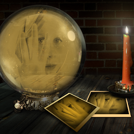 The Future by Huub Keulers - Digital Art Things ( candle, ball, photographs, future )