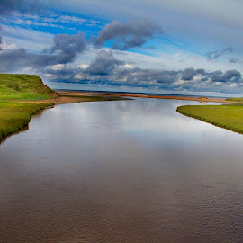 by James Blyth Currie - Landscapes Waterscapes