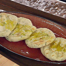 Grilled Green Onion Flatbread