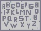 Thumbnail of the map 'Alphabet'