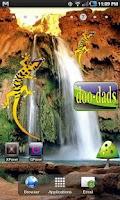 Screenshot of Gecko doo-dad yell/purple