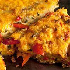 Bell Pepper and Potato Frittata Recipe