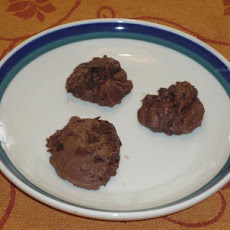 Gluten Free Chocolate Fudge Cookies