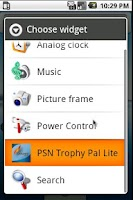 Screenshot of Psn Trophy Pal Lite