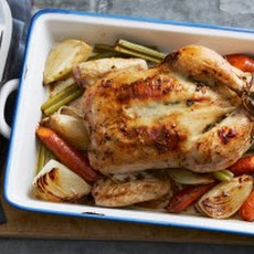 Roasted Chicken with Lemon, Garlic, and Thyme