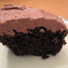 Kittencal's Super Moist One-Bowl Dark Chocolate Cake