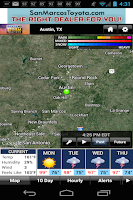 Screenshot of KEYE WX