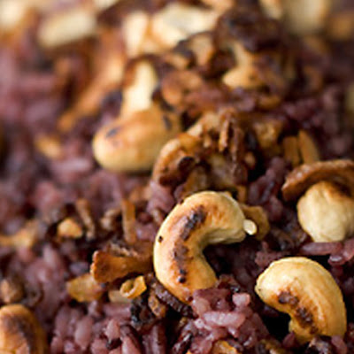 Purple Jasmine Coconut Rice