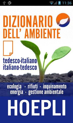 Dizionario dell'ambiente
