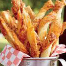 Mustardy Cheese Straws