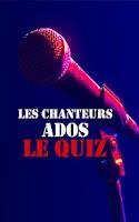 Screenshot of Les Chanteurs Ados : Le Quiz