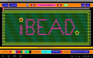 Screenshot of iBead Peyote Ex