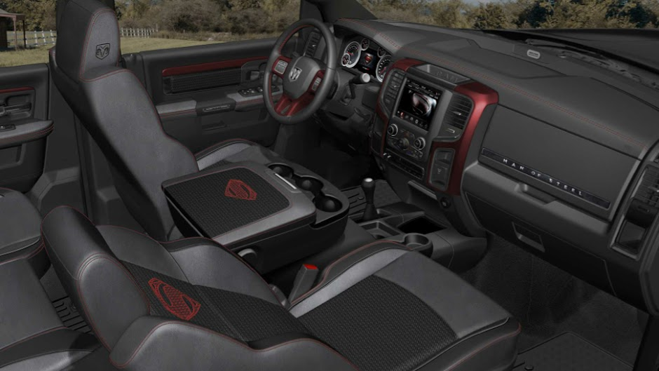 Ram Trucks Man of Steel Interior