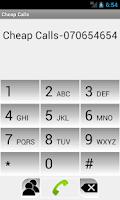 Screenshot of Cheap Calls - 070654654
