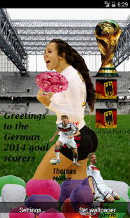 German greetings 2014 WorldCup - screenshot