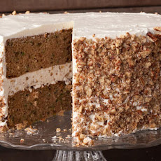 Zucchini Layer Cake with Tangy Buttercream Frosting Recipe