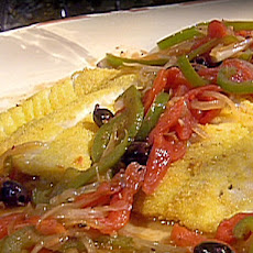 Portuguese-Style Pan-Fried Hake