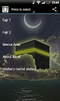 Screenshot of Fajr Alarm Ringtone