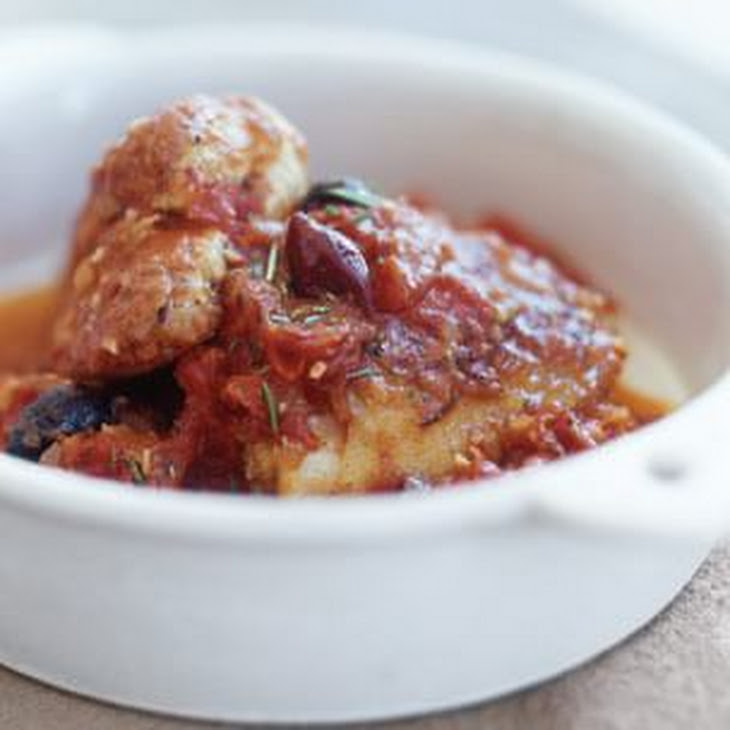 Chicken with Tomatoes & Olives Recipe | Yummly