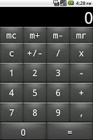 Screenshot of Private Calculator Lite