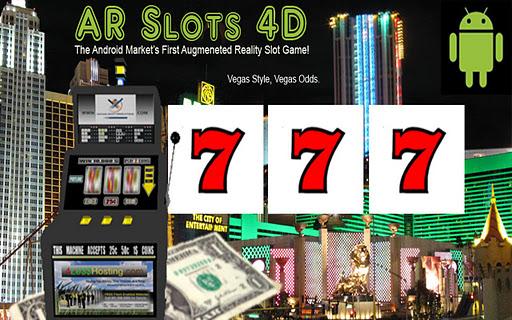 4D Vegas Style AR Slot Machine