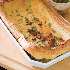Yorkshire Pudding with Bacon and Sage