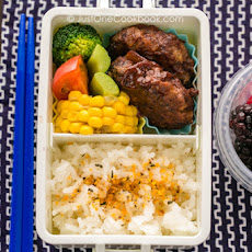 Hamburger Steak Bento