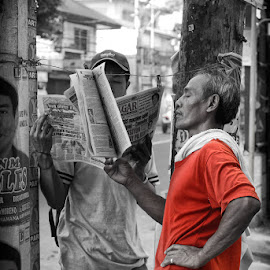 by Francis Cayetano - People Street & Candids ( selective color, pwc )