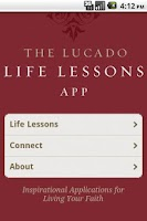 Screenshot of Lucado Life Lessons