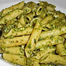 Penne With Garlic Pesto