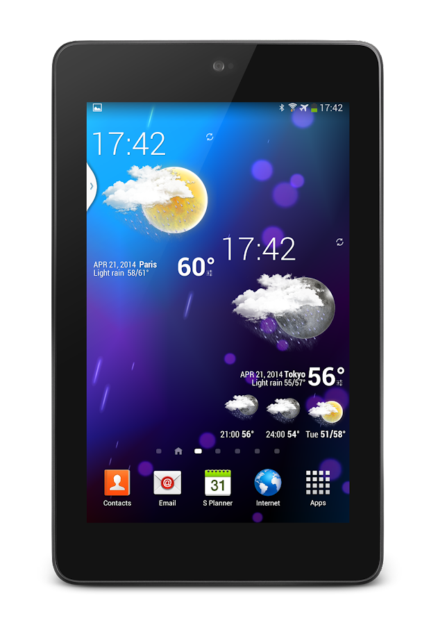 Weather Animated Widgets Screenshot 19