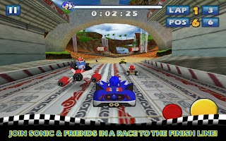 Screenshot of Sonic & SEGA All-Stars Racing