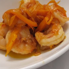 King Prawn with Bell Pepper Ribbons